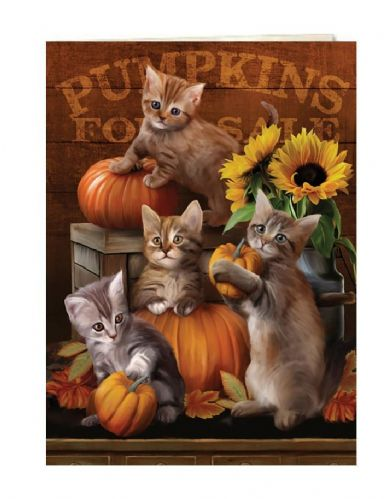 Autumn Kisses Greeting Card | Tree-Free Greetings®